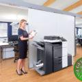 Colour Copier Lease Rental Offer Konica Minolta Bizhub C258 Office