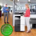 Colour Copier Lease Rental Offer Konica Minolta Bizhub C258 Office 365