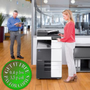 Colour Copier Lease Rental Offer Konica Minolta Bizhub C258 Office 365