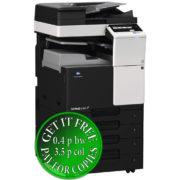 Colour Copier Lease Rental Offer Konica Minolta Bizhub C287 DF 628 JS 506 PC 214 Left