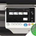 Colour Copier Lease Rental Offer Konica Minolta Bizhub C287 DF 628 OT 506 PC 214 Panel Keypad
