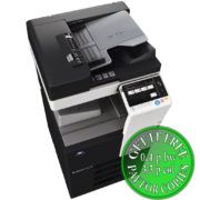Colour Copier Lease Rental Offer Konica Minolta Bizhub C287 DF 628 OT 506 PC 214 Side