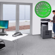 Colour Copier Lease Rental Offer Konica Minolta Bizhub C287 Office