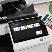 Colour Copier Lease Rental Offer Konica Minolta Bizhub C287 Office Mobile Control