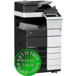 Colour Copier Lease Rental Offer Konica Minolta Bizhub C458 OT 506 PC 215 Left