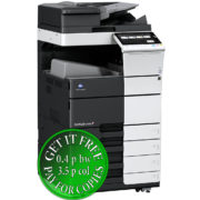 Colour Copier Lease Rental Offer Konica Minolta Bizhub C458 OT 506 PC 215 Left