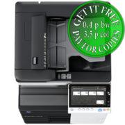 Colour Copier Lease Rental Offer Konica Minolta Bizhub C458 OT 506 PC 215 Top