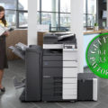 Colour Copier Lease Rental Offer Konica Minolta Bizhub C458 Office
