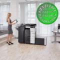 Colour Copier Lease Rental Offer Konica Minolta Bizhub C458 Office 365