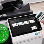 Colour Copier Lease Rental Offer Konica Minolta Bizhub C458 Office Mobile Control