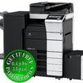 Colour Copier Lease Rental Offer Konica Minolta Bizhub C458 RU 513 FS 537SD PC 215 LU 302 Right