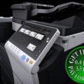 Colour Copier Lease Rental Offer Konica Minolta Bizhub C458 Side
