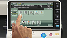 Bizhub C284 Training Scanning and Faxing