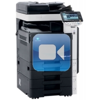 Konica Minolta Bizhub C220 Video Training