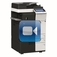 Konica Minolta Bizhub C224 Video Training
