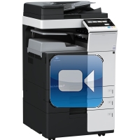 Konica Minolta Bizhub C258 Video Training
