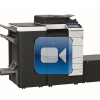 Konica Minolta Bizhub C654 Video Training