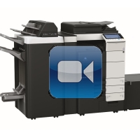 Konica Minolta Bizhub C754 Video Training