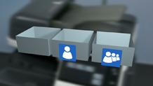 Bizhub C3351 Training User Boxes