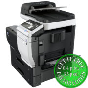 Colour Copier Lease Rental Offer Konica Minolta Bizhub C3351 Bypass tray open