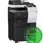 Colour Copier Lease Rental Offer Konica Minolta Bizhub C3851 DK P03 Left