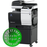 Colour Copier Lease Rental Offer Konica Minolta Bizhub C3851 DK P03 Right