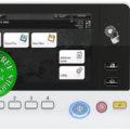 Colour Copier Lease Rental Offer Konica Minolta Bizhub C3851 Panel