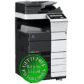 Colour Copier Lease Rental Offer Konica Minolta Bizhub C558 OT 506 PC 115 Left