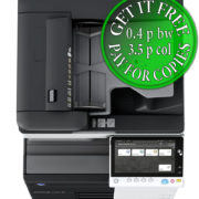 Colour Copier Lease Rental Offer Konica Minolta Bizhub C558 OT 506 PC 215 Top