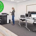 Colour Copier Lease Rental Offer Konica Minolta Bizhub C558 Office