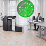 Colour Copier Lease Rental Offer Konica Minolta Bizhub C558 Office 365