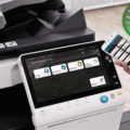 Colour Copier Lease Rental Offer Konica Minolta Bizhub C558 Office Mobile Control