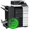 Colour Copier Lease Rental Offer Konica Minolta Bizhub C558 RU 513 FS 536SD PC 215 Left