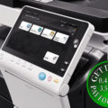 Colour Copier Lease Rental Offer Konica Minolta Bizhub C558 Side
