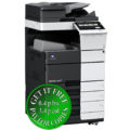 Colour Copier Lease Rental Offer Konica Minolta Bizhub C658 OT 506 PC 215 Left