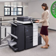 Colour Copier Lease Rental Offer Konica Minolta Bizhub C658 Office