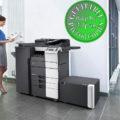 Colour Copier Lease Rental Offer Konica Minolta Bizhub C658 Office 365