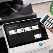 Colour Copier Lease Rental Offer Konica Minolta Bizhub C658 Office Mobile Control
