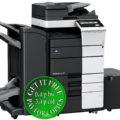 Colour Copier Lease Rental Offer Konica Minolta Bizhub C658 RU 513 FS 536SD PC 415 LU 302 Left