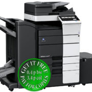 Colour Copier Lease Rental Offer Konica Minolta Bizhub C658 RU 513 FS 536SD PC 415 LU 302 Left