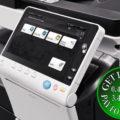 Colour Copier Lease Rental Offer Konica Minolta Bizhub C658 Side