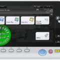 Colour Copier Lease Rental Offer Konica Minolta Bizhub C659 KP 101 Panel