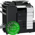 Colour Copier Lease Rental Offer Konica Minolta Bizhub C659 RU 515 FS 537SD PI 507 LU 303 Left