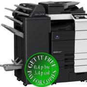 Colour Copier Lease Rental Offer Konica Minolta Bizhub C659 RU 515 FS 537SD PI 507 Left