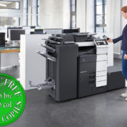 Colour Copier Lease Rental Offer Konica Minolta Bizhub C759 Office 365