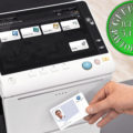 Colour Copier Lease Rental Offer Konica Minolta Bizhub C759 Office Security Card Authentication