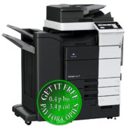 Colour Copier Lease Rental Offer Konica Minolta Bizhub C759 RU 515 FS 536 Left
