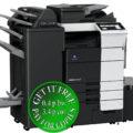 Colour Copier Lease Rental Offer Konica Minolta Bizhub C759 RU 515 FS 537SD PI 507 LU 303 Left