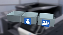 Konica Minolta Bizhub C659 Training User Boxes