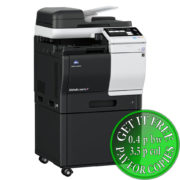 Colour Copier Lease Rental Offer Konica Minolta Bizhub C3851FS DK P03 Left